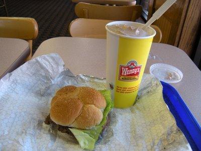 Sweet sustenance, thy name is Wendy.
