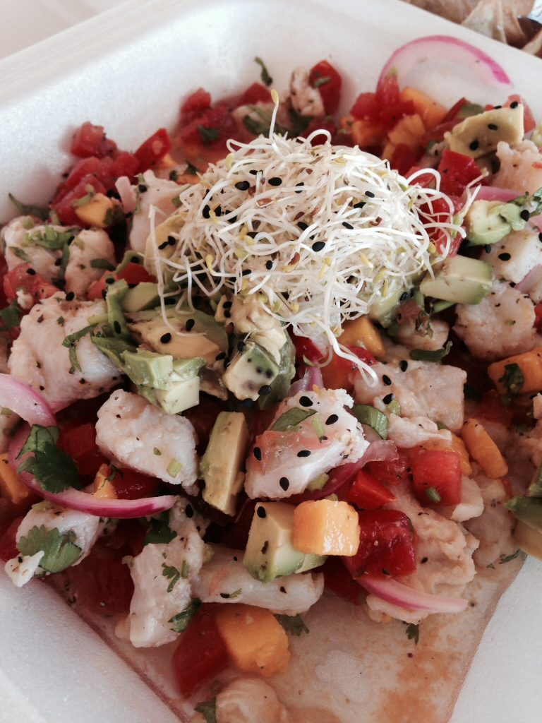 The best Ceviche recipe I've ever found, from a little beach bar in Mexico.